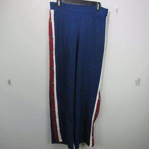 💞IMAN Women's blue brake away pants MED AVG